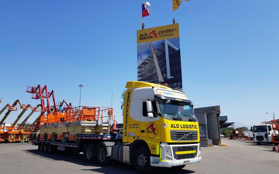 ALO Logistic entrega 18 Alzahombres JLG y ALO Lift para inventario en Centro de Distribución capitalino