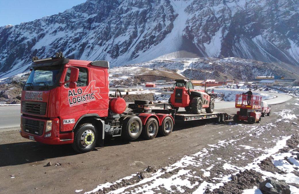 En ALO Logistic no hay altura que no se pueda alcanzar: Transporte y Soporte en condiciones extremas