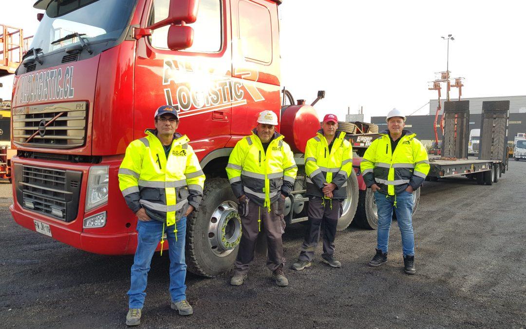 ¡Líderes en Transporte! Saludamos a Conductores de ALO Logistic y Camioneros en su día